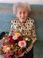 106 let naše stanovalke gospe Arih Marije