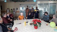 Koledniki so obiskali tudi Dom sv. Lenarta