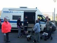Obisk mobilne policijske postaje