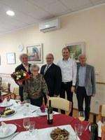 Praznovanje 105 let gospe Marije Arih